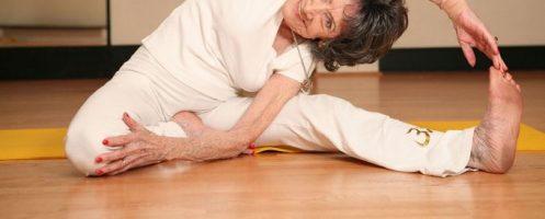 Йога для старшего поколения